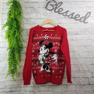 Christmas Sweater Minnie Mouse